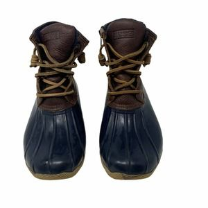 Sperry TopSider Saltwater Leather Rubber Duck Boot